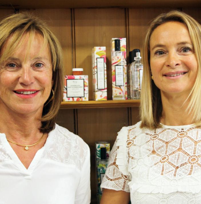 Yolande et Séverine