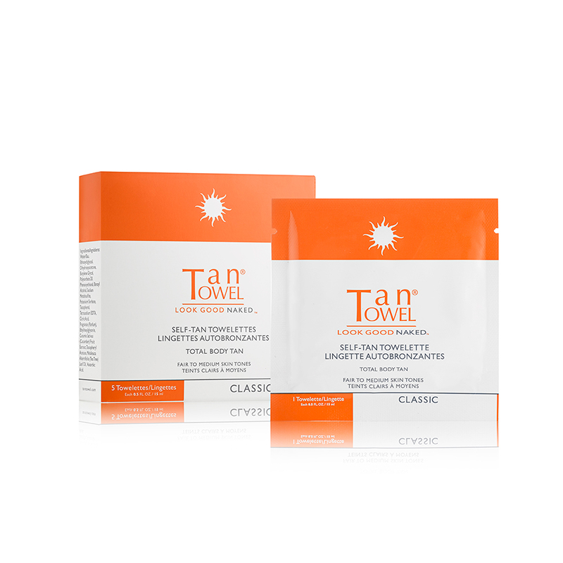 Tan Towel - Lingettes auto-bronzantes corps entier